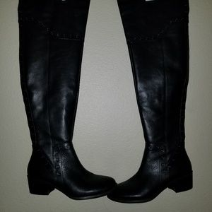 Ladies over the knee boots